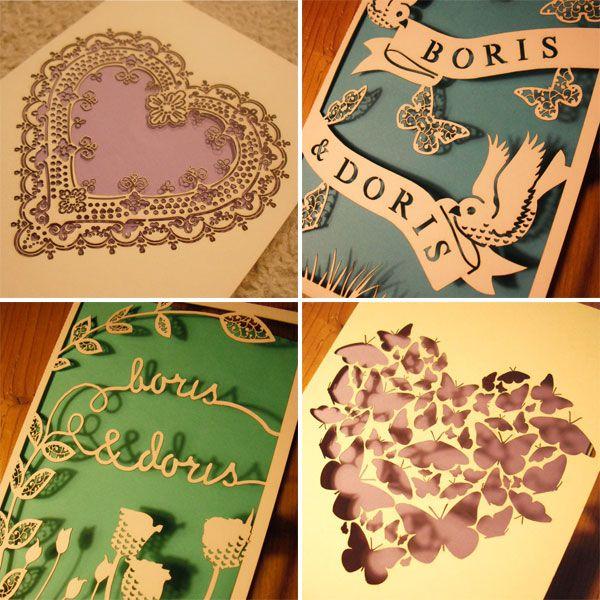 Креативные открытки при помощи лазерной гравировки