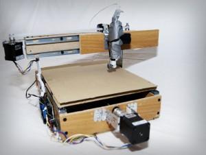 принтер, печатающий Брайлем