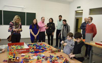 ЦМИТ 3D идеи организовал День открытых дверей для учащихся младших классов Гимназии 2072