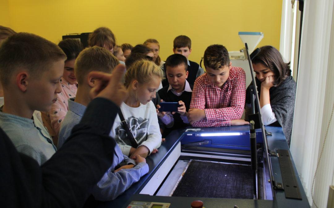 ЦМИТ «3D Идеи» принял участие в проекте Департамента науки, промышленной политики и предпринимательства г. Москвы «Технонавигатор: заводы детям 2018»